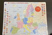 Карта Европы на немецком языке Екатеринбург
