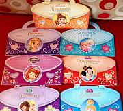 Детские книжки Disney Дисней Принцессы Москва