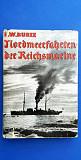 Книга Nordmeerfahrten der Reichsmarine 1935 г Орел